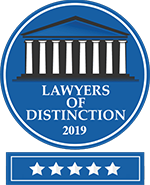 The Lawyers Of Destinction Badge